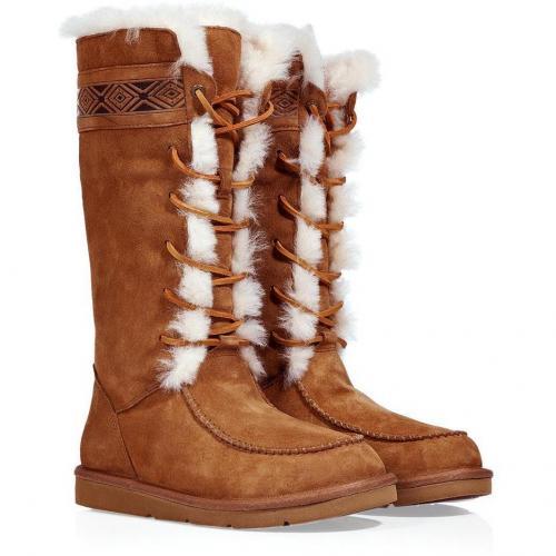 UGG Australia Chestnut Tularosa Boots