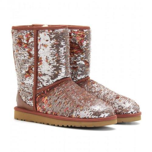 UGG Australia Classic Short Sparkle Boots
