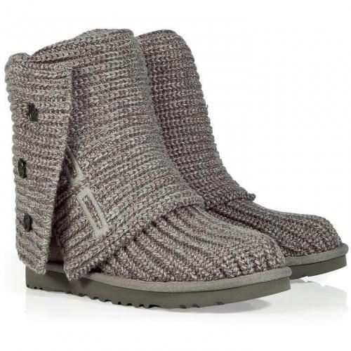 UGG Australia Grey Classic Cardy Boots
