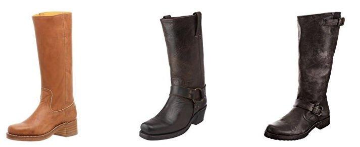 Klassische Blockabsatz Stiefel