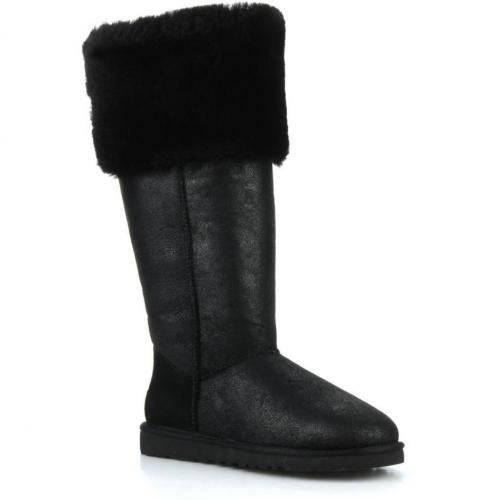 68a2d91c98 Ugg Australia – Over the knee bailey button by Ugg Australia – Overknee- Stiefel und kniehohe Stiefel für Damen / schwarz